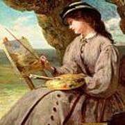 The Fair Amateur Art Print