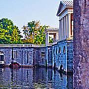 The Fairmount Waterworks In Philadelphia Art Print