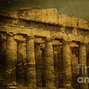 The Fall Of Athens Art Print by Lee Dos Santos