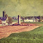 The Farm In Lancaster Art Print