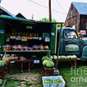 The Farmer's Truck Art Print