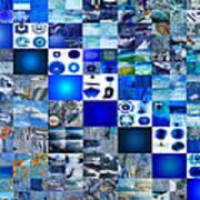 The Fathomless Blue Of Bliss Art Print