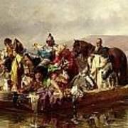 The Ferry  Art Print by Johann Till