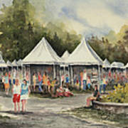 The Festival Art Print
