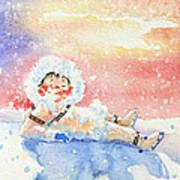 The Figure Skater 6 Art Print