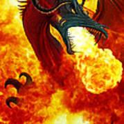 The Fire Dragon Art Print