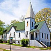 The First Christian Church Of Harriman 2 Art Print