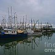 The Fishing Fleet Art Print