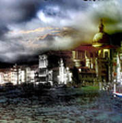 The Flow Of Waters  Il Flusso Delle Acque Art Print