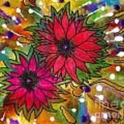 The Flowers In My Son's Garden Art Print