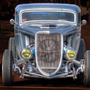 The Ford Grill Art Print