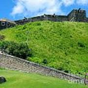 The Fortress At St. Kitts Art Print