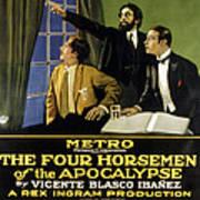 The Four Horsemen Of The Apocalypse Art Print