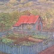 The Garden Barn At Callaway Gardens Art Print