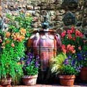 The Garden Cistern Art Print