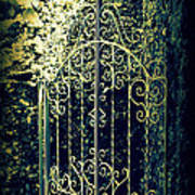 The Gate In The Grotto Of The Redemption Iowa Art Print