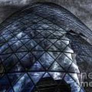 The Gherkin - Neckbreaker View Art Print