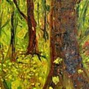 The Golden Forest Art Print