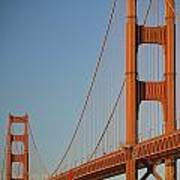 The Golden Gate Bridge At Dawn Art Print