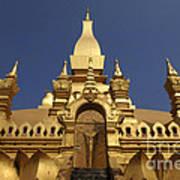 The Golden Palace Laos Art Print