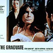 The Graduate, Anne Bancroft, Katharine Print by Everett