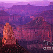 The Grand Canyon North Rim Art Print