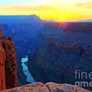 The Grand Canyon Solitude At Toroweap Art Print