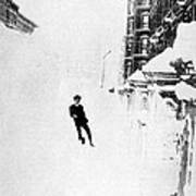 The Great Blizzard, Nyc, 1888 Art Print by Science Source