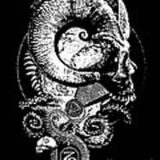 The Great Horned Secret  Art Print