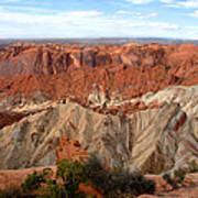 The Great Upheaval Dome Art Print