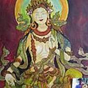 The Green Tara Art Print
