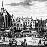The Hague: Market, 1727 Art Print