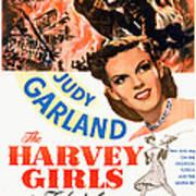The Harvey Girls, Judy Garland, 1946 Art Print