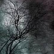 The Haze Of The Moon Art Print