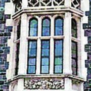 The Heritage Windows Of The Teachers' College Art Print
