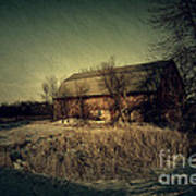 The Hiding Barn Art Print by Joel Witmeyer
