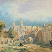 The High Street Lincoln  Art Print