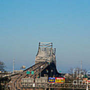 The Horace Wilkinson Bridge Over The Mississippi River In Baton Rouge La Art Print