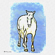The Horse Art Print by Bill Cannon