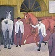 The Horse Mart  Art Print