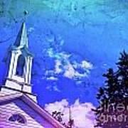 The House Of Men Under The House Of God Art Print