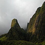 The Iao Needle Art Print