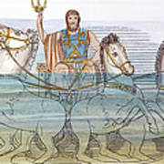 The Iliad: Neptune, 1805 Art Print