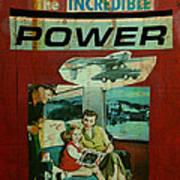 The Incredible Power Minor Art Print by Adam Kissel