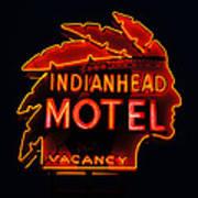The Indianhead Art Print