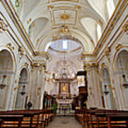The Interior Of Santa Maria Assunta Art Print