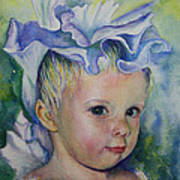 The Iris Princess Art Print