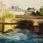The Irish Bridge Art Print