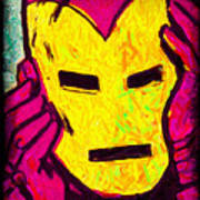 The Iron Scream Art Print