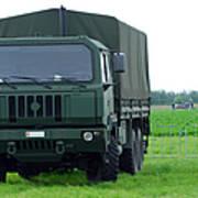 The Iveco M250 8 Ton Truck Art Print by Luc De Jaeger